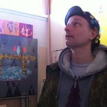 Kyle in the studio 2015
